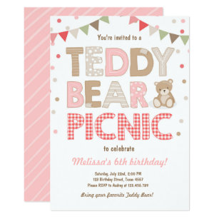 picnic invitations zazzle