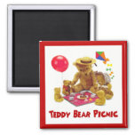 Teddy Bear Picnic Magnet