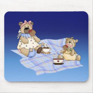 Teddy Bear Picnic Mouse Pad