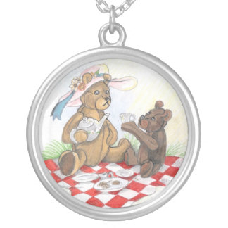 Teddy Bear Picnic~ necklace