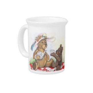 Teddy Bear Picnic~pitcher Beverage Pitcher