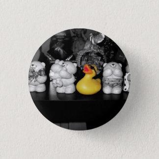 'Teddy bear picnic' Rubber Duck Button (small)