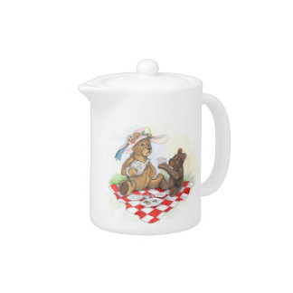 Teddy Bear Picnic~ teapot