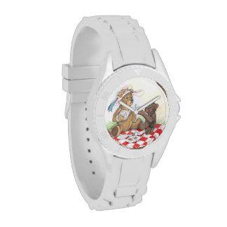 Teddy Bear Picnic wrist watch