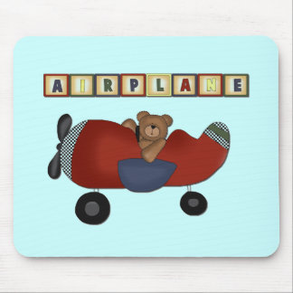 Teddy Bear Pilot Tshirts and Gifts Mousepad