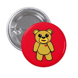 Teddy Bear Pinback Button