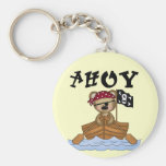 Teddy Bear Pirate Tshirts and Gifts Key Chains