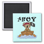 Teddy Bear Pirate Tshirts and Gifts Refrigerator Magnets