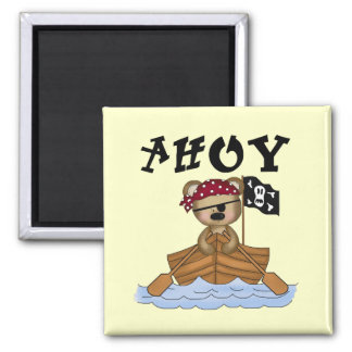 Teddy Bear Pirate Tshirts and Gifts Magnet