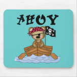 Teddy Bear Pirate Tshirts and Gifts Mouse Pad