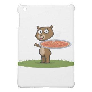 Teddy Bear Pizza iPad Mini Cover