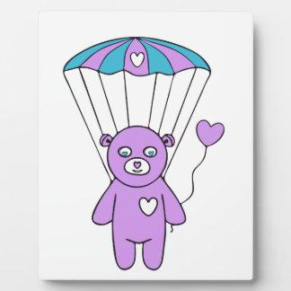 Teddy bear plaque