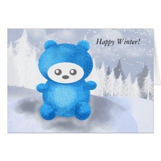 Teddy Bear Playing card