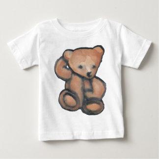 Teddy Bear Pondering CricketDiane Designer Stuff Baby T-Shirt