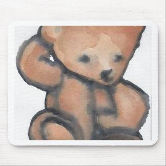 Teddy Bear Pondering CricketDiane Designer Stuff Mouse Pads