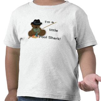 Teddy Bear Pool Shark Kid's T-shirt