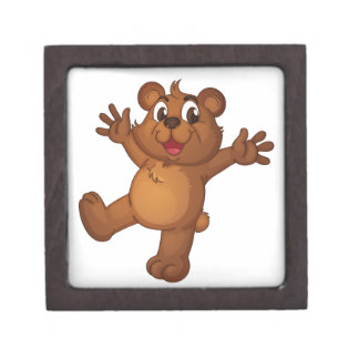 Teddy bear premium keepsake box