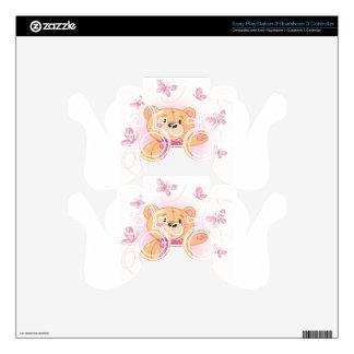 teddy bear PS3 controller skins