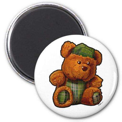 Teddy bear refrigerator magnets