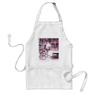 Teddy Bear Rides Adult Apron