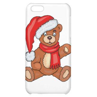 Teddy Bear Santa Claus Case For iPhone 5C