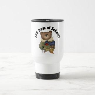 Teddy Bear School 100 Days Tshirts and Gifts Travel Mug