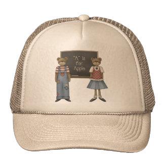 Teddy Bear School Trucker Hat