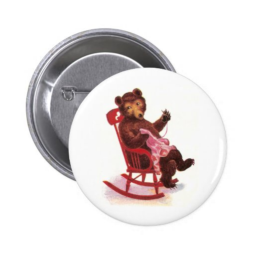 Teddy Bear Sewing Clothes Button