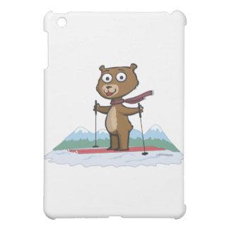 Teddy Bear Skiing Case For The iPad Mini