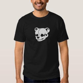 Teddy Bear Skull 3D Dark Only T-shirts