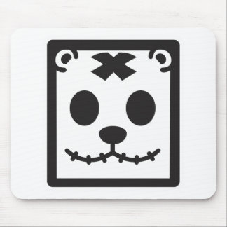 Teddy Bear Square Head Mouse Pad