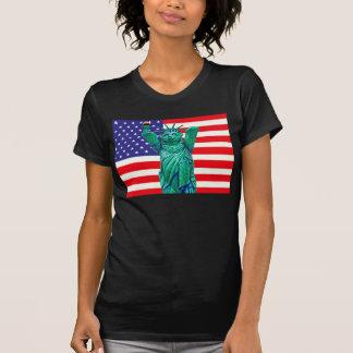 Teddy Bear,Statue of Libert and USA Flag Shirts