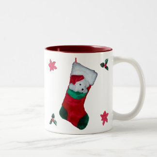 Teddy Bear Stocking Mug