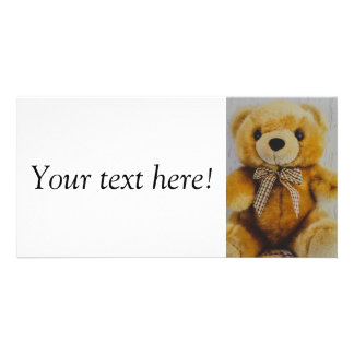 Teddy bear stuffed toy card