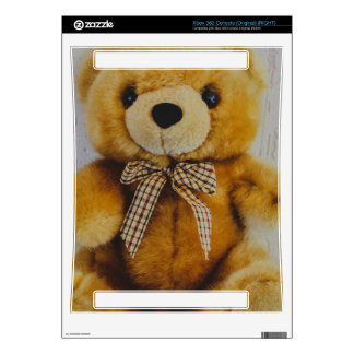 Teddy bear stuffed toy decals for the xbox 360