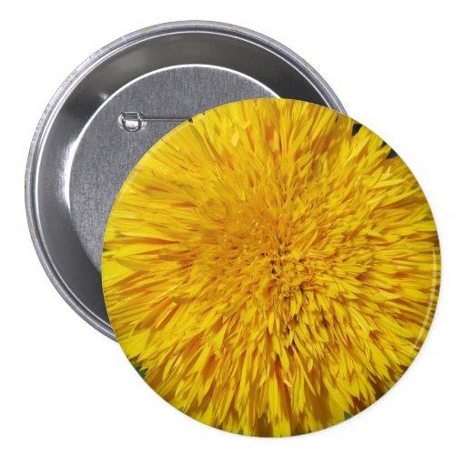 Teddy Bear Sunflower Pin
