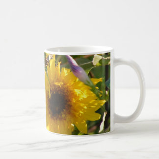 Teddy Bear Sunflowers: Kansas Coffee Mug