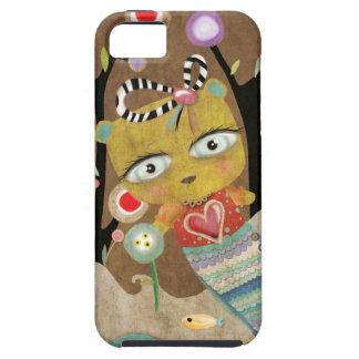 Teddy Bear Surfing iPhone SE/5/5s Case