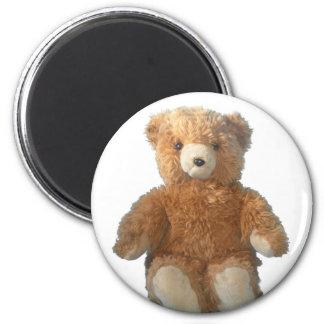 Teddy Bear - Sydney 2 Inch Round Magnet