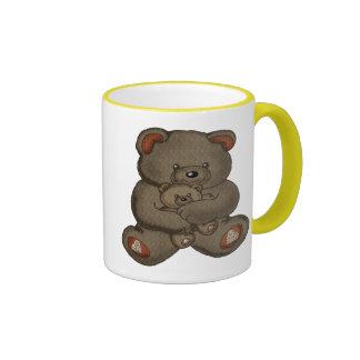 Teddy Bear T-Shirts and Teddy Bear Gifts Ringer Mug