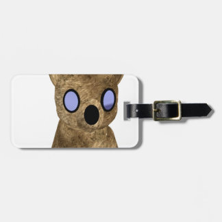 Teddy bear tag for luggage