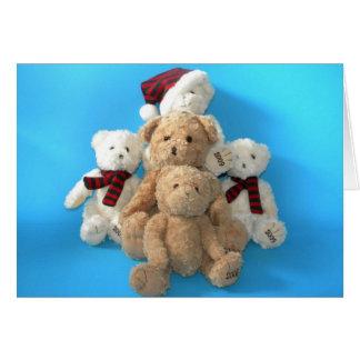 Teddy Bear - The Gang Card