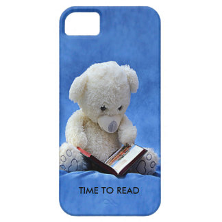 Teddy Bear Time to Read iPhone 5 Barly There Case