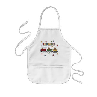Teddy Bear Train T-shirts and Gifts Kids' Apron