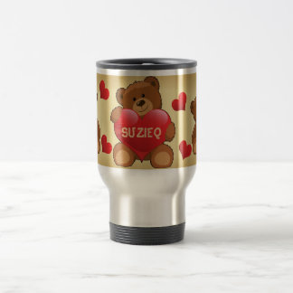 Teddy Bear Travel Mug