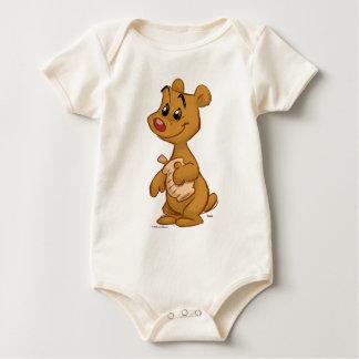 Teddy bear bodysuit