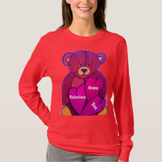TEDDY BEAR VALENTINE top