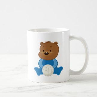 Teddy Bear Volleyball Player Coffee Mug