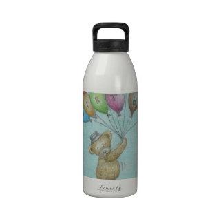 teddy bear reusable water bottles