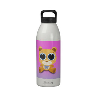 Teddy Bear Reusable Water Bottle